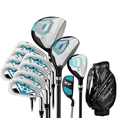 Chipper Golf Golfista da golf da 12 pezzi per principianti Golfista da golf da 12 pezzi, set da golf rosa per principianti con guanti Per uomini donne ( Colore : One color , Dimensione : A1 )