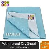 Bey Bee Premium Quick Dry Mattress Protector Baby Crib Bed Sheet - Medium