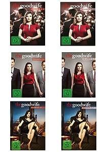 The Good Wife Season 1.1-3.2 im Set - Deutsche Originalware [18DVDs]