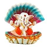 Ganesh Idol for car Dashboard Lord ganpati Ganesha murti for car Dashboard car Accessories by Aica Gifts