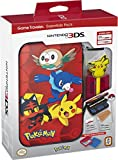 #10: Nintendo 3DS Pokemon Sun & Moon Starter Kit with Pokemon Group and Pikachu Stylus for Nintendo 3DSXL
