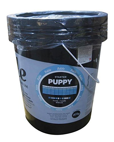 Fidele Puppy Starter Dog Food 10kg (in plastic container)