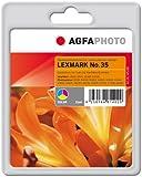 AgfaPhoto Tintenpatrone mehrfarbig kompatibel zu No.35 geeignet für Lexmark P900/P4300/X5200 series