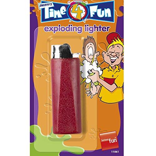 Feuerzeug Kostüm - PARTY DISCOUNT Explodierendes Scherz-Feuerzeug