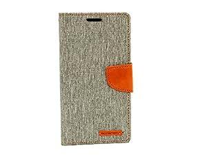 Goospery Fancy Diary Wallet Case for Samsung Galaxy Samsung Galaxy Note 5 Grey