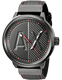 a7e6f0c9f973 Amazon.es  armani exchange hombre - Incluir no disponibles  Relojes