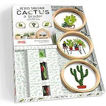 Petits tableaux de cactus à broder: 30 jolis modèles à encadrer