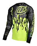 Troy Lee Designs Sprint Air SRAM TLD Long Sleeve Jersey Code yellow/black Size M 2017 Long Sleeve Cycling Jersey