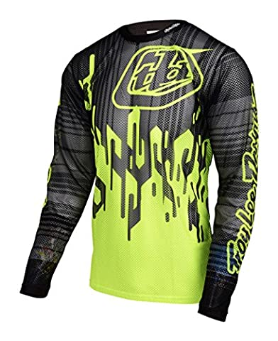 Troy Lee Designs - Troy Lee Designs Maillot Sprint Air Code Flo Yellow - Unicolor - L - Unicolor