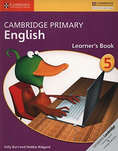 Cambridge Primary English. Learner's Book Stage 5 por Sally Burt