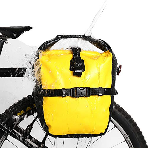 ZHLZH Gepäcktasche Für Fahrrad/Fahrradtasche wasserdichte Fahrradtasche, (für Fahrrad Gepäckträger Satteltasche Umhängetasche Laptop Professionelle Radfahren Zubehör)
