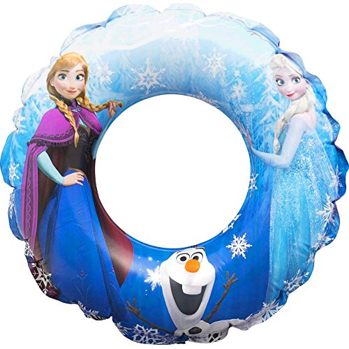girls-disney-frozen-elsa-anna-olaf-inflatable-swimming-rubber-ring