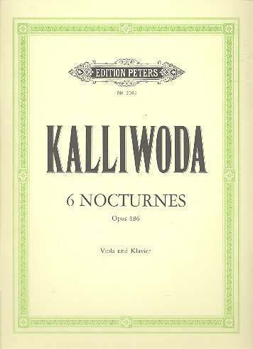 edition-peters-kalliwoda-johann-wenzel-6-nocturnes-op186-viola-and-piano-classical-sheets-viola