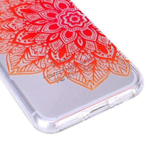 2017 Ekakashop iphone 7 4.7 pollici Custodia, 2-in-1 ultra sottile-Fit molle flessibile di caso Cover posteriore per iphone 7, Ragazza Ragazzo Crystal Clear Soft Cover gel TPU Silicone Protezione Sott B #11