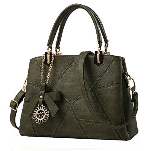 Borse Moda Yy.f Donna Borse Nuove Borse Mobile Messenger Estrinseca La Moda Intrinseca E Pratico Multicolore Green