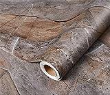 Glow4u Kunstmarmor-Kontaktpapier für Arbeitsplatte, Selbstklebende Vinylfolie, abziehen und aufkleben, Granit 60cm x 3m G-002