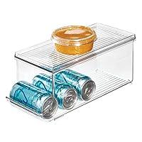 iDesign Fridge Binz Soda Holder Plus, ID70938ES, Clear, Plastic