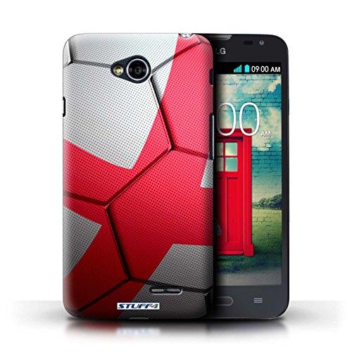 Kobalt® Imprimé Etui / Coque pour LG L70/D320 / France/Français conception / Série Nations de Football Angleterre