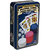 Pavilion Cards/Chips/Dice Tin by Cardinal Industries