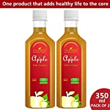 Neuherbs 100% Natural Apple Cider Vinegar For Weight Loss 350 Ml (Pack Of 2)