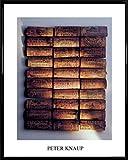 1art1 Korken Poster Kunstdruck und Kunststoff-Rahmen -