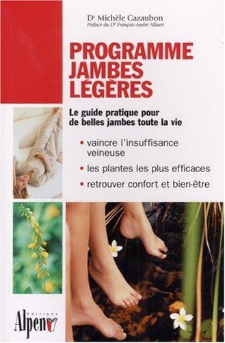 Programme jambes légères par Michèle Cazaubon