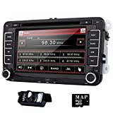 Eincar 7 inch Double Din In Dash Car Stereo for VW Volkswagen Golf
