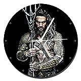MasTazas Aquaman Jason Momoa Reloj de Pared Wall Clock 20cm