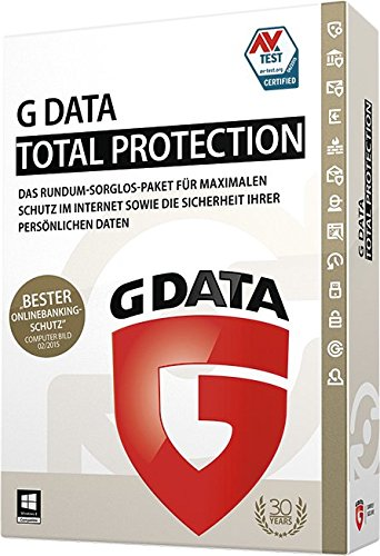 G Data Total Protection - 3 PCs / 1 Jahr