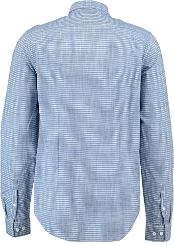 Garcia Herren Freizeithemd Blau (Clear River 2374)