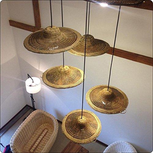 TIANLIANG04 lustres Chapeaux de bambou Yong-I, alinéa (vi) tête de lustres