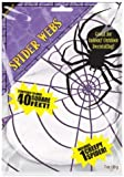 Stretchable Spiders Web White - 1 spider included 240084