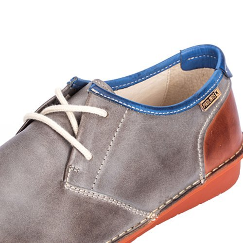 Pikolinos Santiago M7b_v17, Oxfords homme Gris - DARK GREY/TEJA/ROYAL BLUE