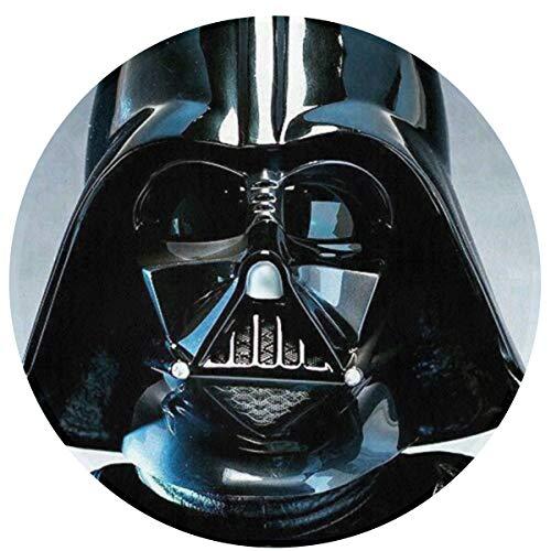 DNBCJJ Star Wars - Alfombra de Microfibra Antideslizante para Puerta de salón o Estudio