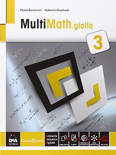 Multimath giallo. Per le Scuole superiori. Con e-book. Con espansione online: 1