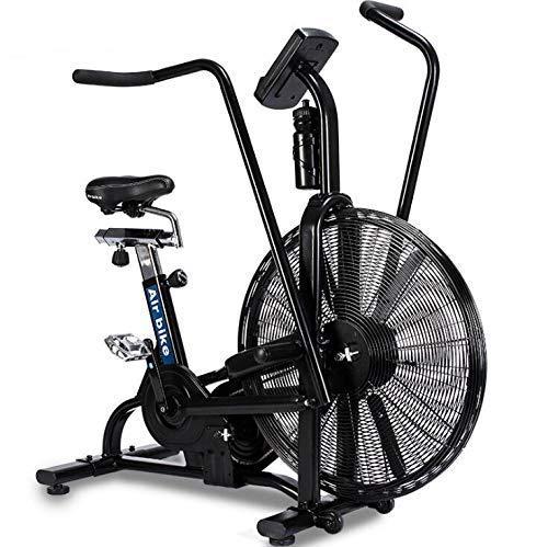 MJ-Sports Fitnessgeräte Sportfahrrad, rotierendes dynamisches Fahrrad- / Windwiderstandsluftfahrrad- / Multifunktionslüfterauto, Fitnessgeräte-Übungswindfahrrad, drehendes Sturmluftfahrrad