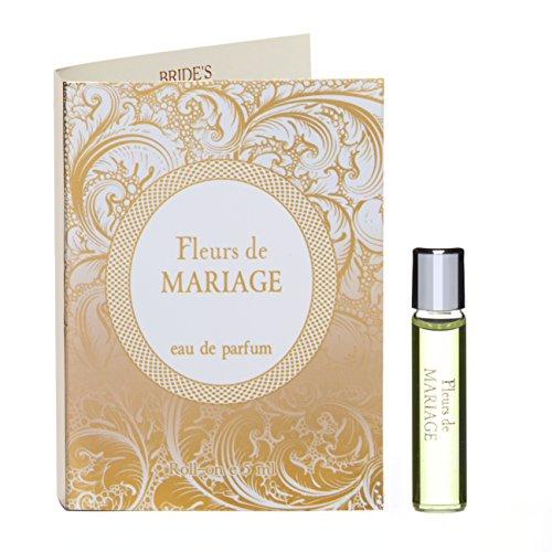 Fleurs de MARIAGE Eau de Parfüm Rollerball für Damen - 5 ml Roll-on Miniatur + Beste Hochzeit Parfüm Geschenkidee + Aroma des wundervollen Festes (Miniatur Parfüm Parfum De Eau)