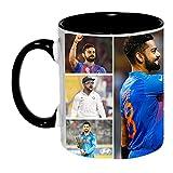Virat Kohli Ceramic Coffee Mug by Ashvah™ - MUG1008-BLK