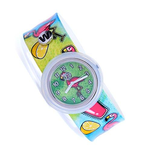 ere Armbanduhr - Pink Lemonade - Kinderuhr für Jungen und Mädchen ()