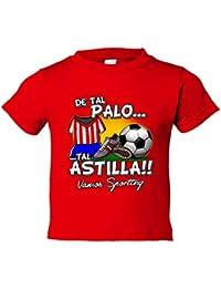 Camiseta niño De tal palo tal astilla Sporting fútbol