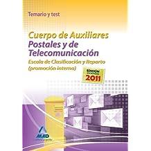 Temario Y Test - P. Interna - C. Auxiliares Postales Y De Telecom. (Correos 2012)