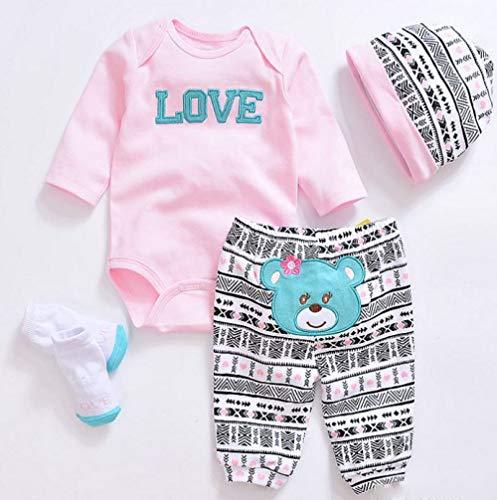 LLX Moda Ropa De Bebé Recién Nacido Reborn Baby