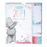 Me to You 2019 Tatty Teddy Household Planner with Calendar, Stickers, Shopping List & Post-its