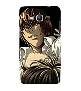 Cartoon, Black, Cartoon and Animation, Printed Designer Back Case Cover for Samsung Galaxy Core Prime :: Samsung Galaxy Core Prime G360 :: Samsung Galaxy Core Prime Value Edition G361 :: Samsung Galaxy Win 2 Duos Tv G360Bt :: Samsung Galaxy Core Prime Duos