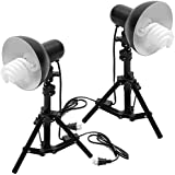 NuLink Photography Table Top Photo Studio Lighting Kit For Product Studio Shooting [Black