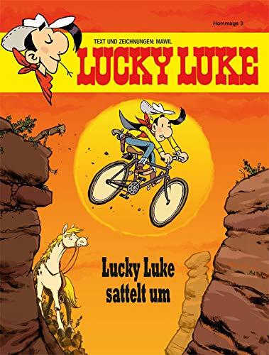 Lucky Luke sattelt um: Hommage 3