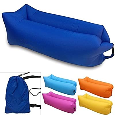 * * * & Relax * * Luxury Hammock Portable Indoor/Outdoor Folding Chair Inflatable Sofa inflatable sofa Air Bed Mattress Bag Ideal for Children and Adults Camping Lounger Pool Beach Garden etc *) * * * * * - low-cost UK light shop.