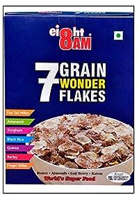 8 AM 7 Grain Wonder Flakes 375gms
