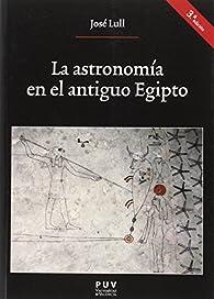 Astronomía en el antiguo Egipto,La par José Llull