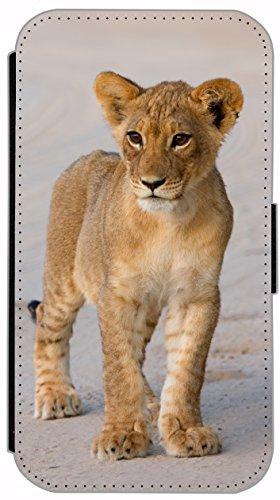 Flip Cover für Apple iPhone 5 5s Design 477 Pferd Hengst Weiß Wiese Grün Weiß Blau Hülle aus Kunst-Leder Handytasche Etui Schutzhülle Case Wallet Buchflip (477) 510